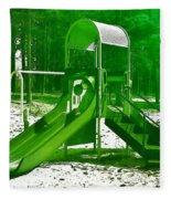 The Playground II - Ocean County Park Fleece Blanket