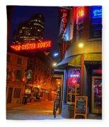 The Point Marshall Street Boston Ma Fleece Blanket