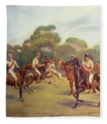 The Polo Match Fleece Blanket