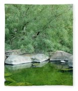 The Pond Fleece Blanket