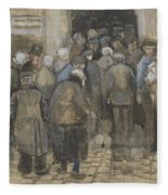 The Poor And Money The Hague, September - October 1882 Vincent Van Gogh 1853  1890 Fleece Blanket