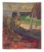 The Poor Fisherman Fleece Blanket