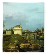 The Porta Portello, Padua Fleece Blanket