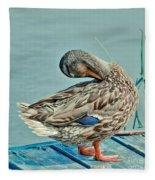 The Pose Fleece Blanket