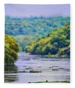 The Potomac Fleece Blanket