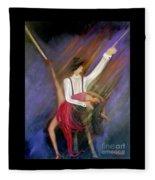The Power Of Dance Fleece Blanket