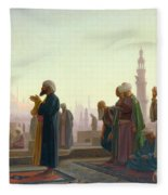 The Prayer Fleece Blanket