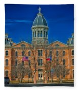 The Presidio County Courthouse Fleece Blanket