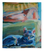 The Princess And The Pea - Sketch Fleece Blanket
