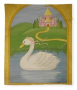 The Princess Swan Fleece Blanket