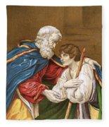 The Prodigal Son Fleece Blanket