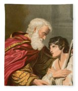 The Prodigal Son Fleece Blanket
