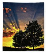 The Promise Oil Fleece Blanket