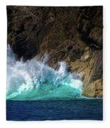 The Pulse Of Cabo San Lucas Fleece Blanket