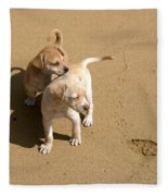 The Puppies Fleece Blanket