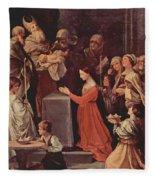 The Purification Of The Virgin 1640 Fleece Blanket