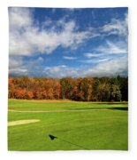 The Putting Green Fleece Blanket
