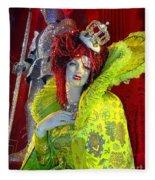 The Queen Of Fashion Fleece Blanket