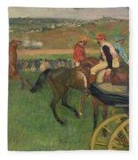 The Race Course Fleece Blanket