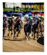 The Race Fleece Blanket