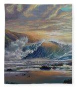 The Radiant Sea Fleece Blanket