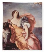 The Rape Of Europa 1639 Fleece Blanket