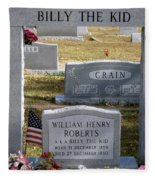 The Real Billy The Kid Fleece Blanket