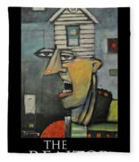 The Realtor Poster Fleece Blanket