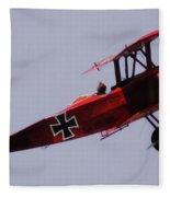 The Red Baron Fleece Blanket
