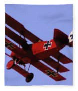 The Red Baron II Fleece Blanket