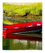 The Red Boat Fleece Blanket