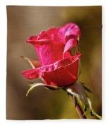 The Red Bud Fleece Blanket