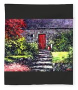 The Red Door Fleece Blanket