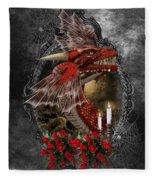 The Red Dragon Fleece Blanket