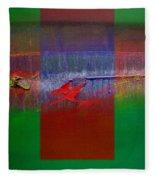 The Red Dragon Tatoo Fleece Blanket