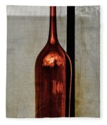 The Red Glass Bottke Fleece Blanket