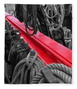 The Red Rail Fleece Blanket