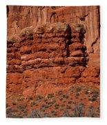 The Red Wall Fleece Blanket