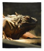 The Reptile World Fleece Blanket