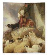 The Rescue Fleece Blanket