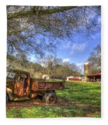 The Resting Place Shadows Fleece Blanket