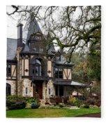 The Rhine House Of Napa Valley Fleece Blanket