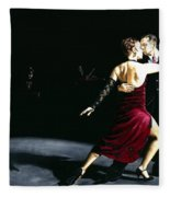 The Rhythm Of Tango Fleece Blanket