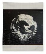 The Rise Of The Full Moon Fleece Blanket