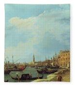 The Riva Degli Schiavoni Fleece Blanket