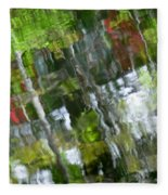 The River 3 Fleece Blanket