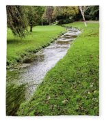 The River Bourne Fleece Blanket