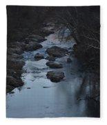 The Rivers Keep Secrets Fleece Blanket