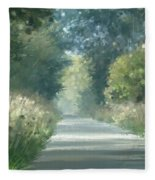 The Road Back Home Fleece Blanket
