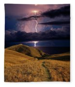 The Road Forward Fleece Blanket